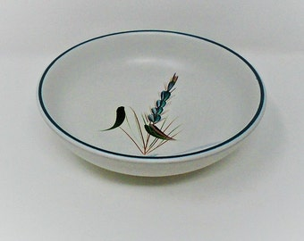 Denby Greenwheat Shallow Bowl / Dish Albert Colledge