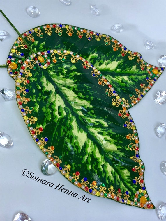 Henna/mehndi rasam leaves