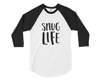 Funny Tee    Snug Life Tee    The Snuggle Is Real    Gift For Her    Gift  For Him    Funny Tshirt    Snuggle 0da7bafa2