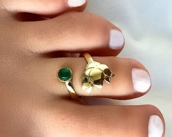 Toe Ring Adjustable Toe Ring Beach Jewelry Brass Toe Ring Foot Jewelry Foot Accessories T71B Foot Ring Summer Jewelry