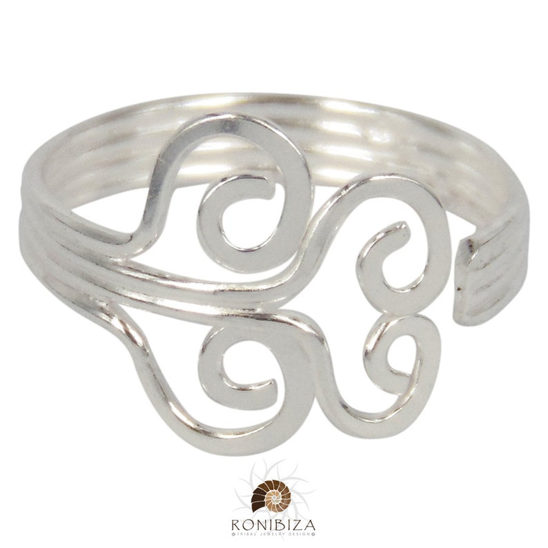 Band Toe Ring Foot Jewelry Foot Accessories T52S Foot Ring Toe Ring Silver Toe Ring Toering Adjustable Toe Ring