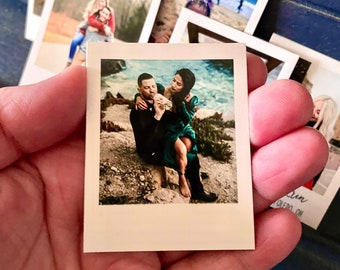 Custom Photo Magnets || Refrigerator Magnet gift for friends birthday weddings new baby favors