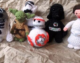 Hand Crocheted Star Wars Miniatures