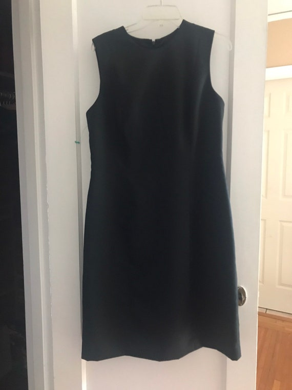 Vintage 90s Laura Ashley Little Black Dress NWT - image 1