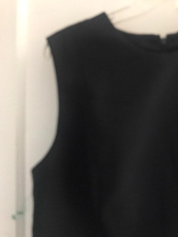 Vintage 90s Laura Ashley Little Black Dress NWT - image 2