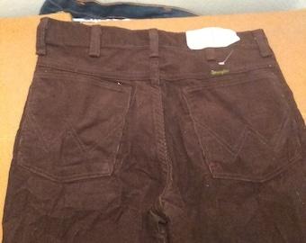 1d97097d Wrangler men student corduroy 1980s USA pants vintage new deadstock  straight leg jeans pick size wear t shirt boot shoe sneakers jacket coat