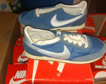 f076152c1 1983 nike scout vintage deadstock athletic running track sneakers shoes low  top wear t shirt jean pant coat jacket