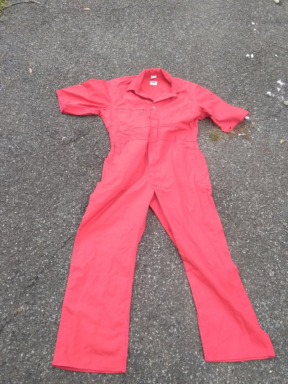 Vintage deadstock lee coveralls twill mechanic pants pick tamañob1 tamañob1 tamañob1 piece jumpsuit made in USA rojo wear jeans Zapatillas t shirt  botas  shoe jacket 9bae61
