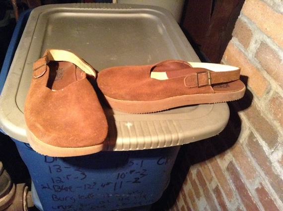 Vintage deadstock earth shoes sandles clogs Anne k