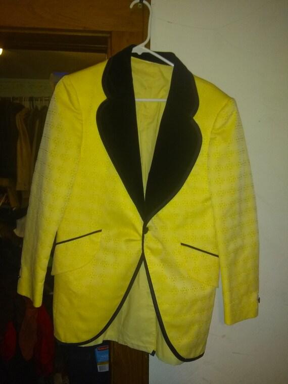 1970' tuxedo tux jacket coat vintage mens suit coa
