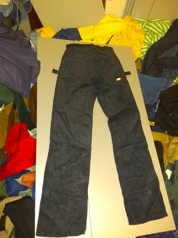 Vintage Deadstock Dee cee corduroy corduroy corduroy straight leg painter jeans hi rise  hombres  28x34 carpenter pant 1970 USA pick tamaño wear t shirt shoe sneaker 2993b9