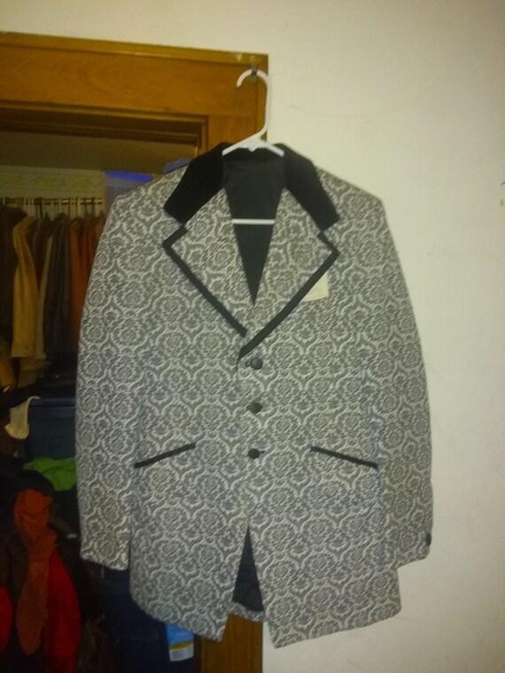 1970' tuxedo jtux jacket coat vintage mens suit co