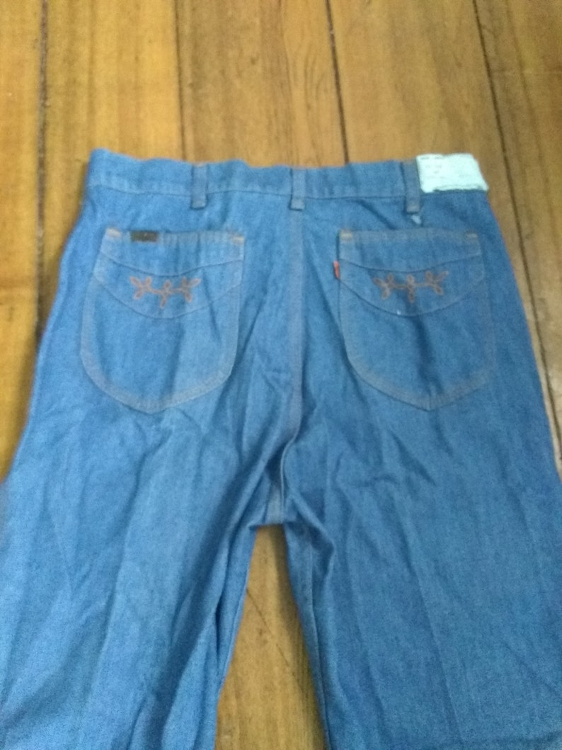 c9114c37 Levi deadstock denim vintage high waist straight leg jeans | Etsy