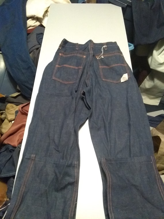 Wrangler Vintage denim 1940s sanforized blue bell