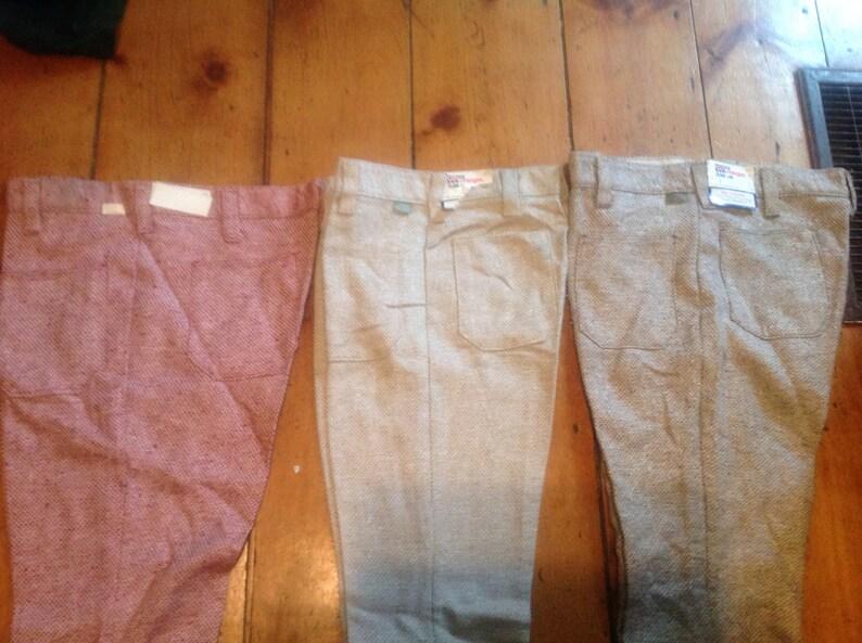 c2cad578 Vintage deadstock wrangler bellbottom flared jeans men's | Etsy