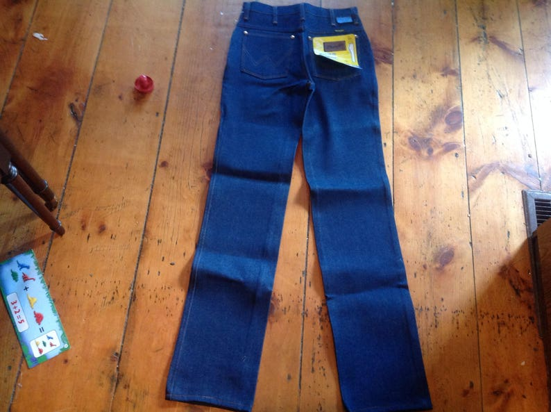 46c32f01 Vintage deadstock wrangler jean 912 straight leg unwash pant | Etsy