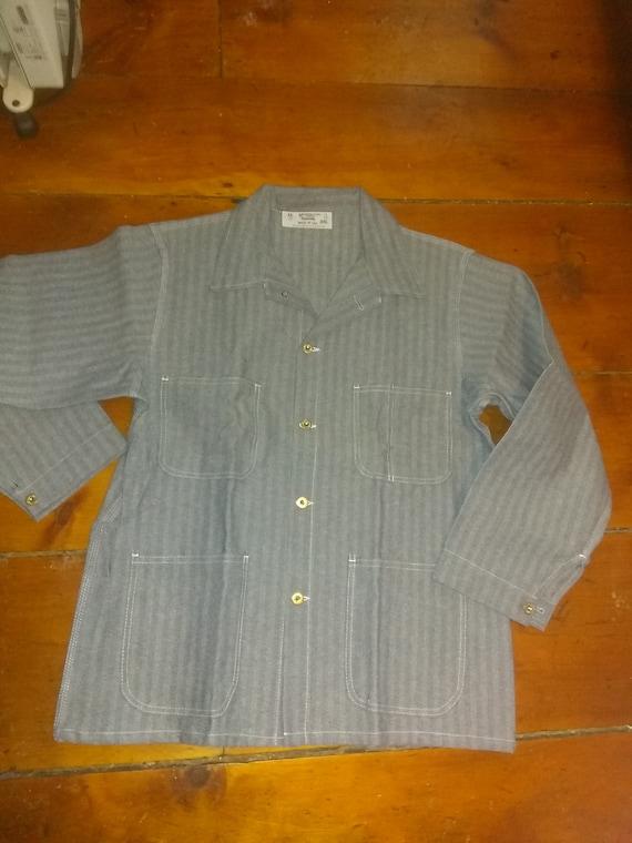 Herringbone sanforized Vintage Deadstock cotton co