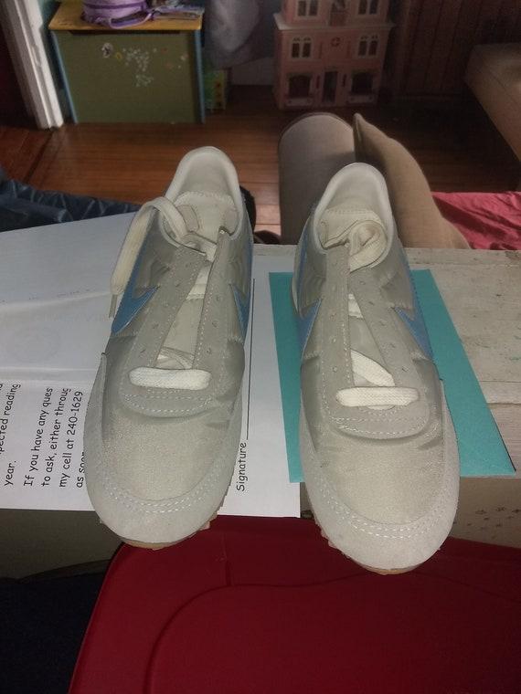1983 Nike Waffel Vintage Deadstock Männer Frauen Laufschiene Scout Turnschuhe Schuhe niedrige Top aus Usa, wählen Sie 1 tragen t Shirt Jean Hose