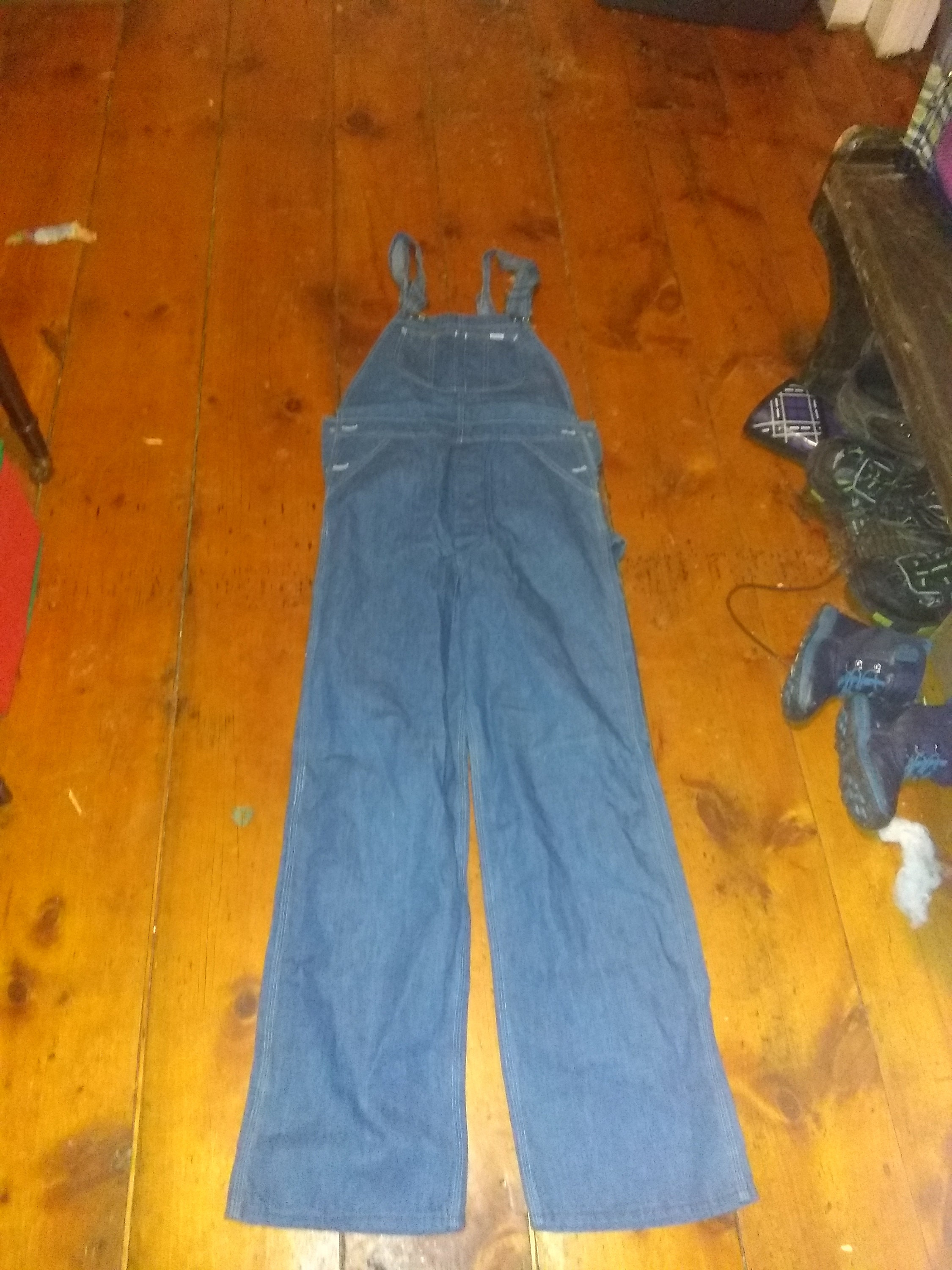 Vintage Overalls & Jumpsuits Deadstock Lee Bib Overalls Jeans Cotton Painter Pants Denim Made Usa Pick Size High Waist Wear T Shirt Sneakers Shoes Boots Sweater Jacket $100.00 AT vintagedancer.com