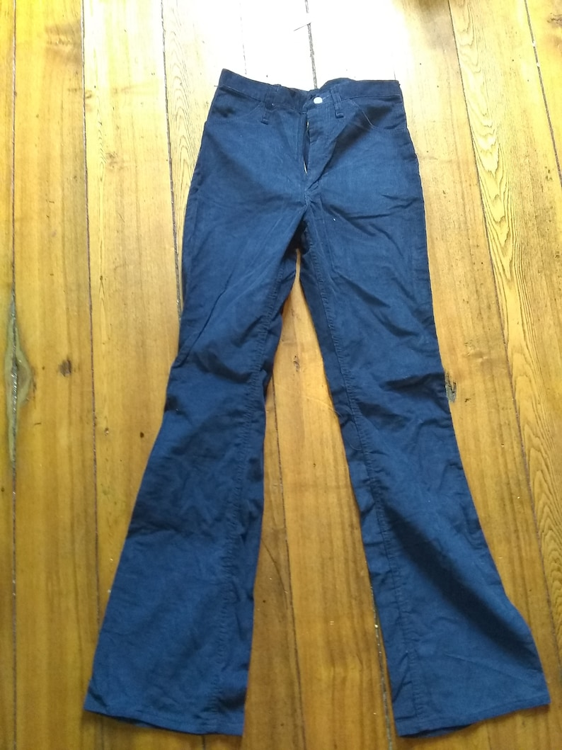275a3c2c Wrangler corduroy boot flare leg small bellbottom jeans | Etsy