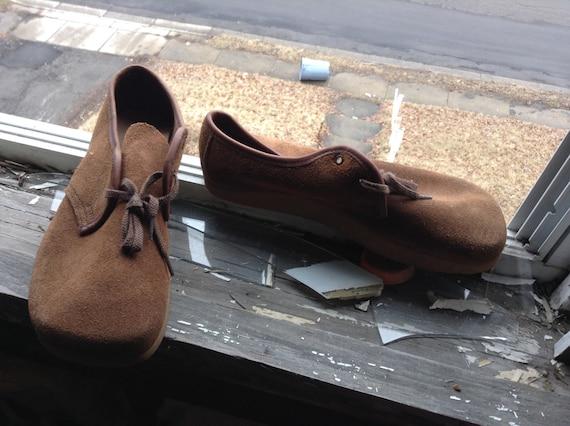 Dode inventaris vintage Anne kalso aarde schoenen negitive hakken 1970 omhoog kant halen 1 paar size vrouwen 5 5.5 6 6.5 7 geen laarzen of sneakers