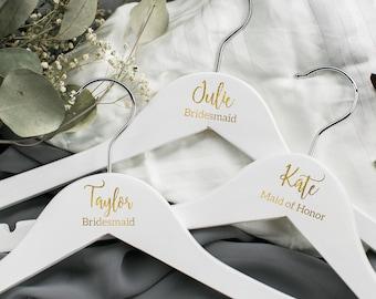 Personalized bridesmaid hanger/bride hanger/personalized hanger/bridal party hanger/wedding hanger/custom hanger/name hanger/dress hanger