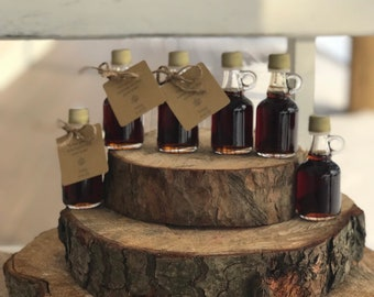 75,maple syrup wedding favors,bridal shower favors,love is sweet,fall wedding favors,personalized favors,pure maple syrup,baby shower favors
