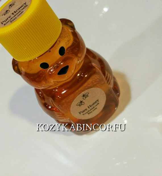 120 Honey Favors Raw Honey2 Ozhoney Bear Bearwinnie The Etsy