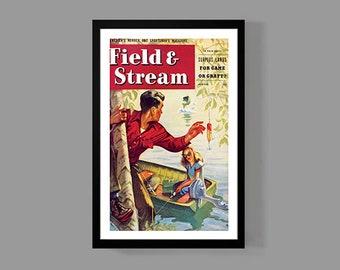 Vintage Fishing Choose Something Fun Poster Art Print Decor For Home