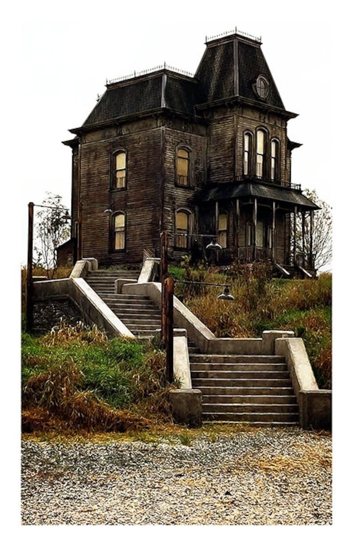 Psycho Movie Poster 60's Horror Movie Poster Bates | Etsy