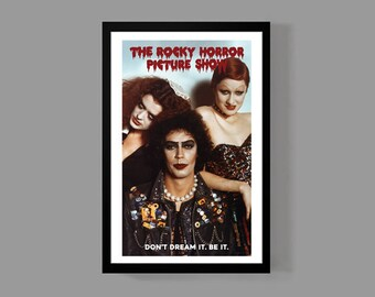 70's Movie Poster - Movie Print - Cult Classic Movie Poster - Dr. Frank-N-Furter