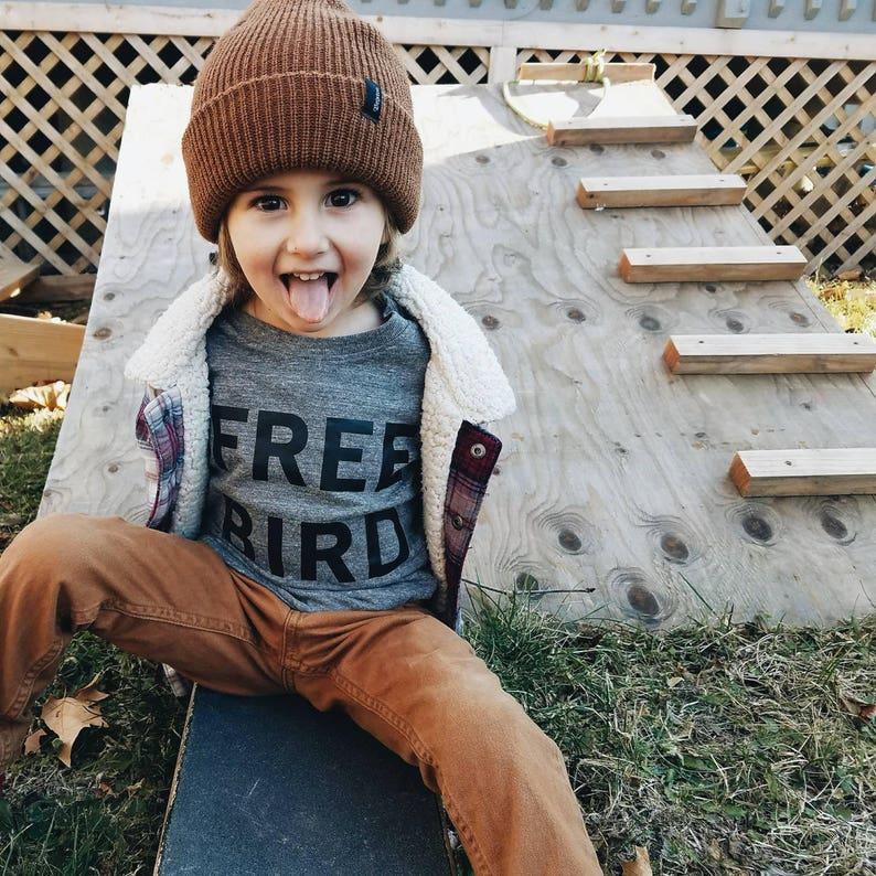 60b2f928e Free Bird kids tee cool kids clothes hip kids shirts | Etsy