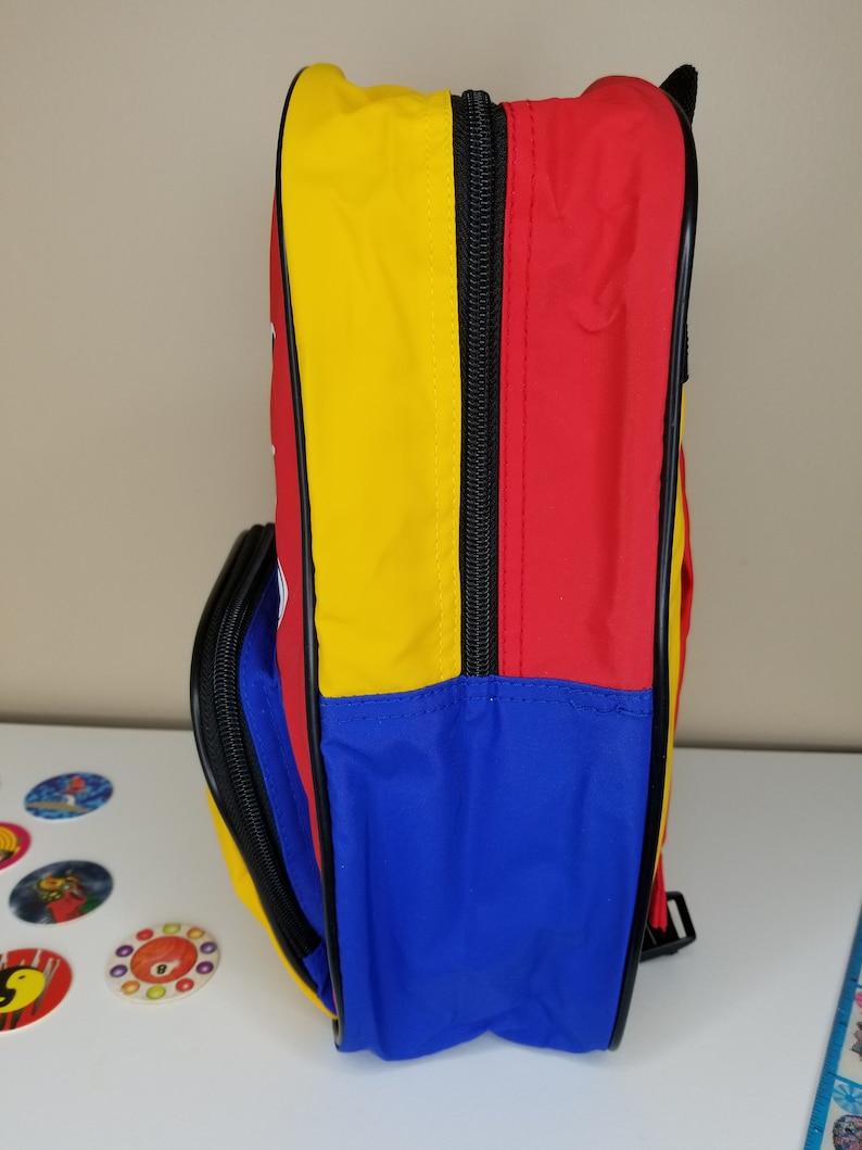 c976ef4e4e 90s Vintage Disney Mickey Mouse Colorblock Mini Backpack
