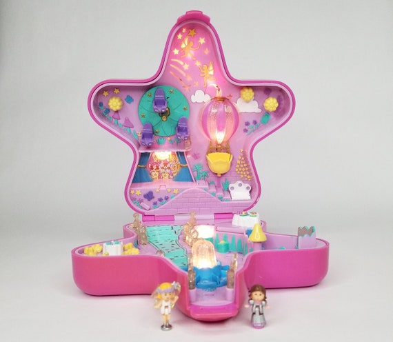 Fashion, Character, Play Dolls 2019 Fashion Vintage Polly Pocket Light Up Hotel 1994 By Bluebird Toys Figures 2019 Official