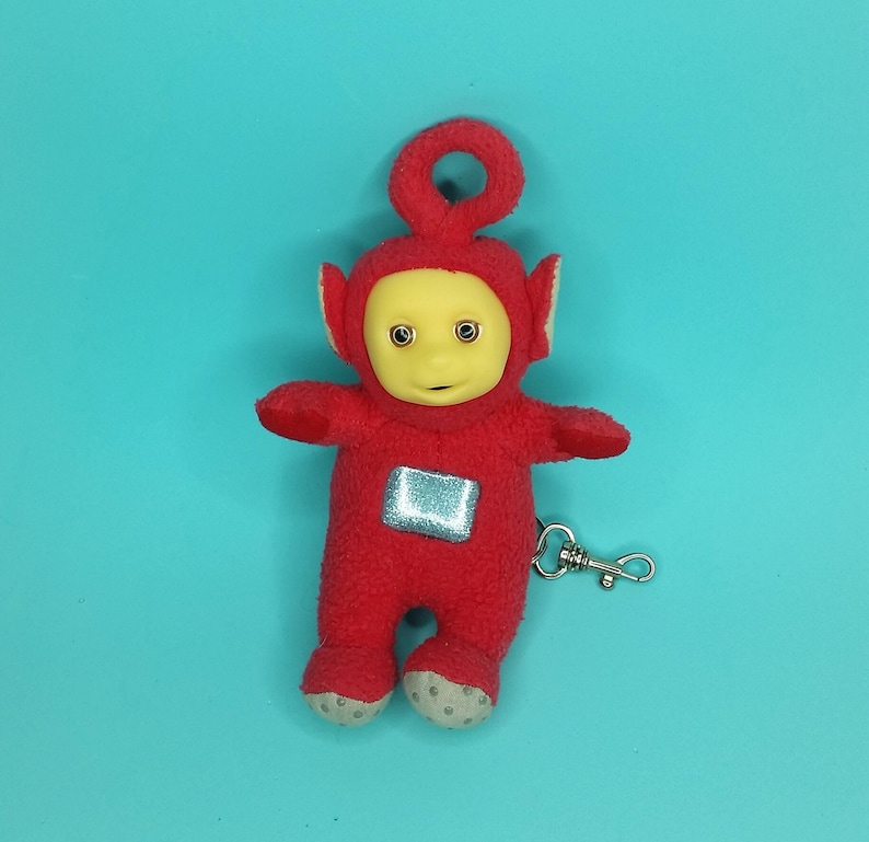 Teletubbies Coin Purse Keychain Backpack Clip Kids Vintage  b512df7fc7