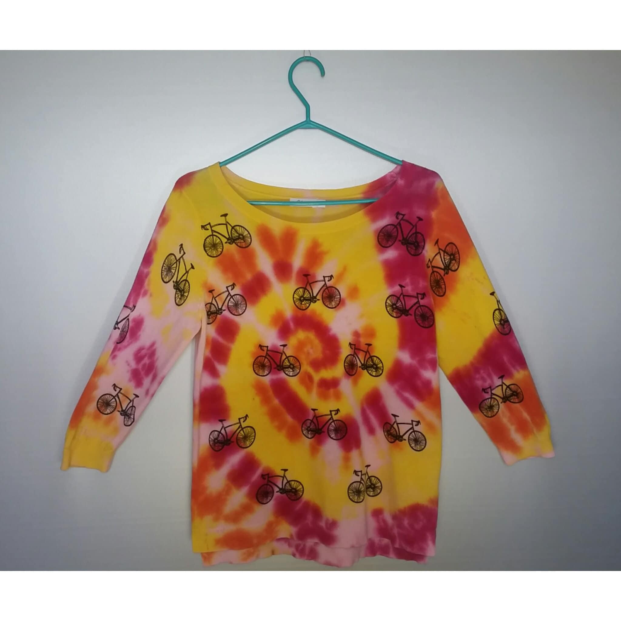 13f0c17844899 Tie Dye Beaded Fringe Shirt Tumblr - DREAMWORKS