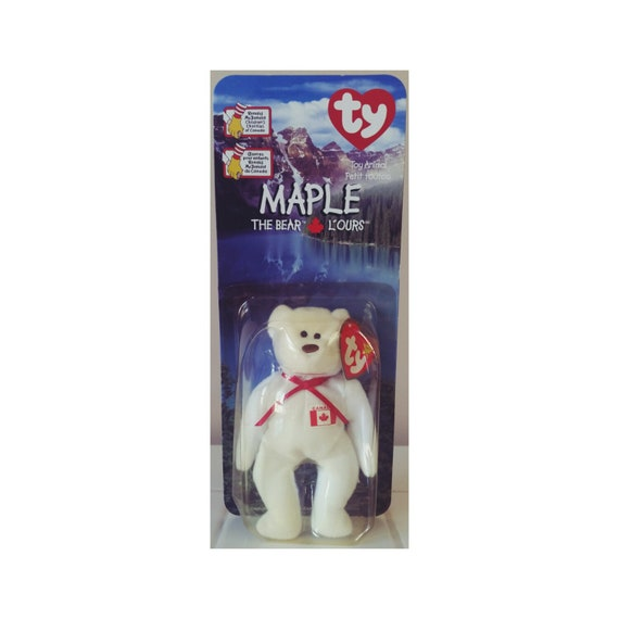 SALE TY Maple Bear McDonalds Happy Meal Toy Beanie Baby Gift  cc42c491fb3