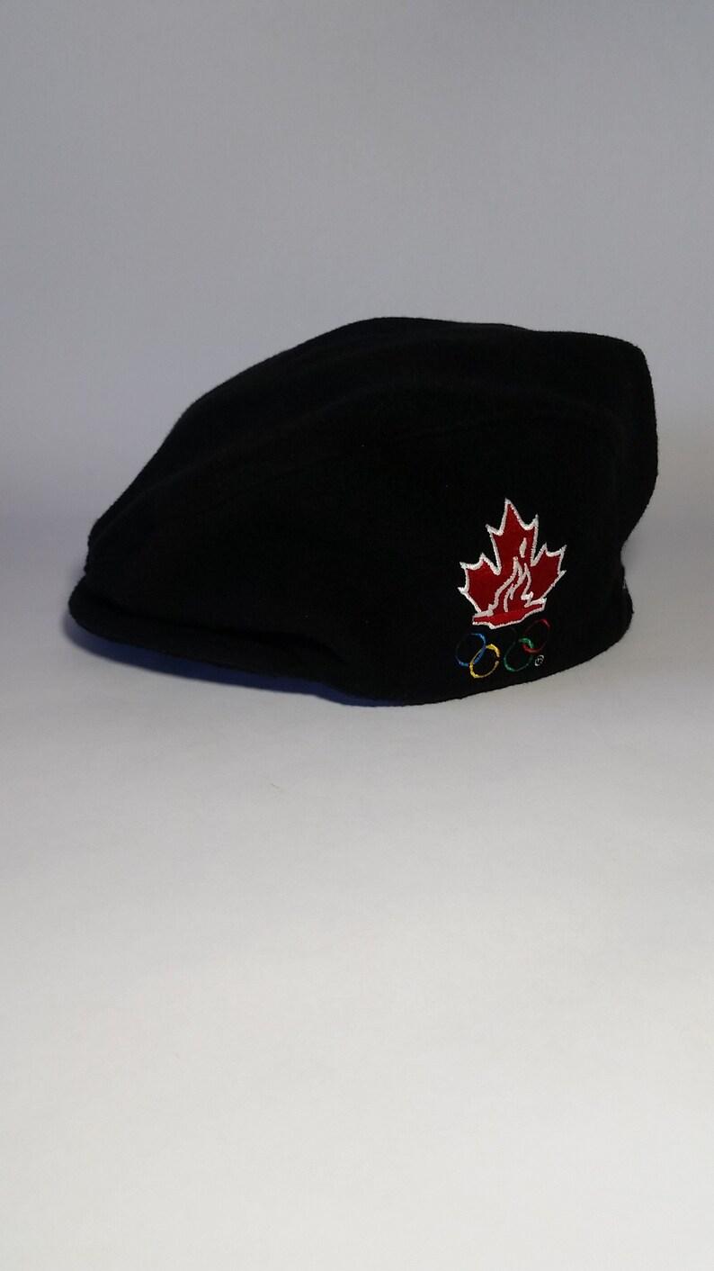 03b98e8362f Rare roots athletics canada olympic hat nagano team etsy jpg 794x1412 Roots  vintage beanie olym snapback