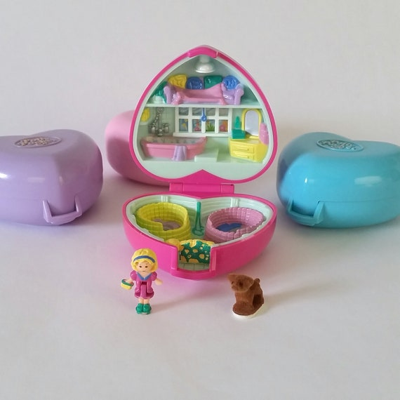 Vintage Bluebird Polly Pocket 1993 Precious Puppies POLLY REPLACEMENT DOLL ONLY