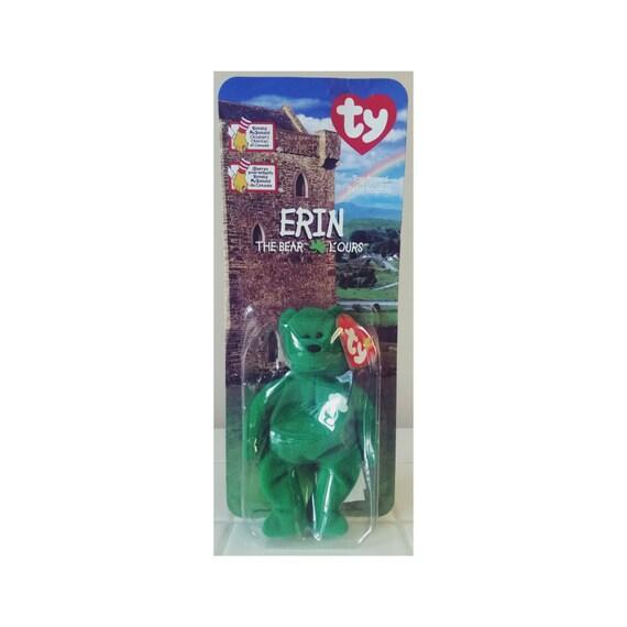 ba81c35261f SALE TY Erin Bear McDonalds Happy Meal Toy Beanie Baby