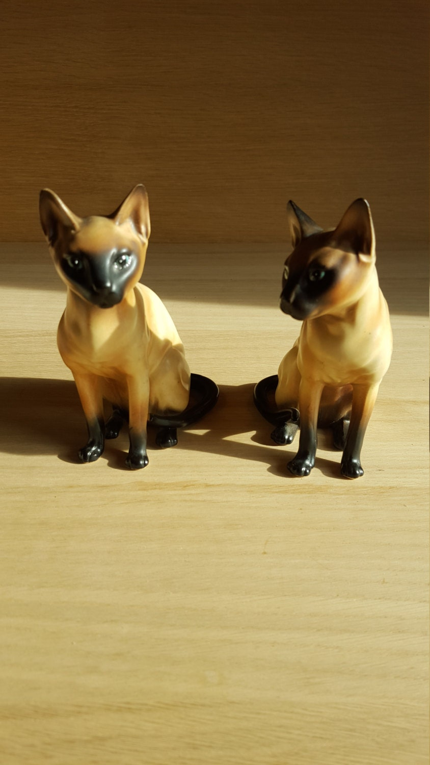 Siamese Cats 2 PRICE INCLUDES SHIPPING