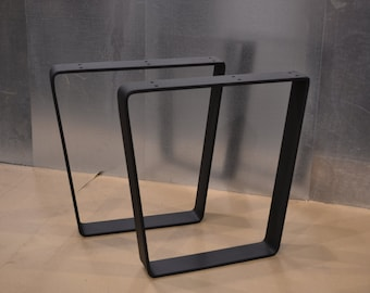 Tapered Trapezoid Style Metal Table/Bench/Desk Legs - Any Size/Color!