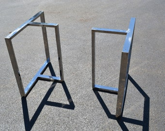IN STOCK - Ready To Ship - Polished T-Shaped Table Legs