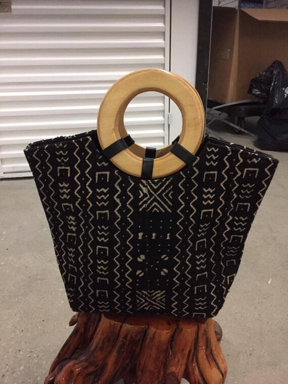 Mudcloth handbag  2b9f3e07dd237
