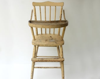 Antique High Chair facaa593f