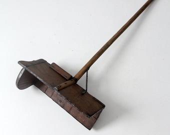 antique primitive farm grain tool