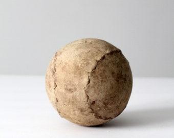 antique softball clutcher ball