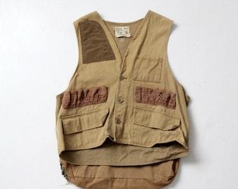 vintage 1960s Nesco hunting vest