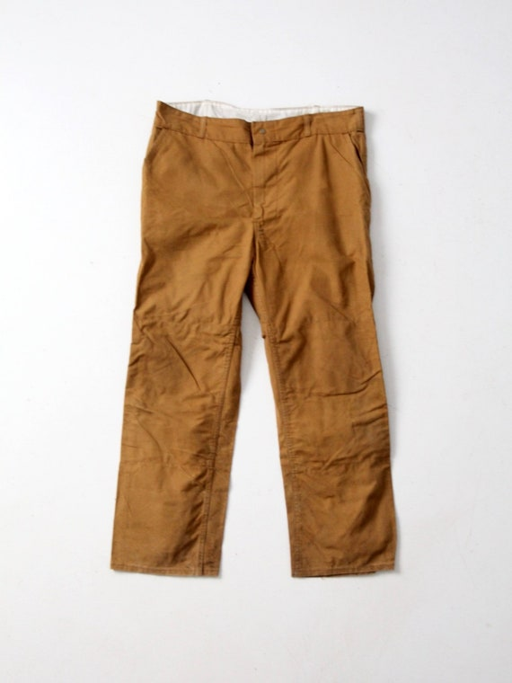 vintage RedHead hunting pants, canvas work pants 4