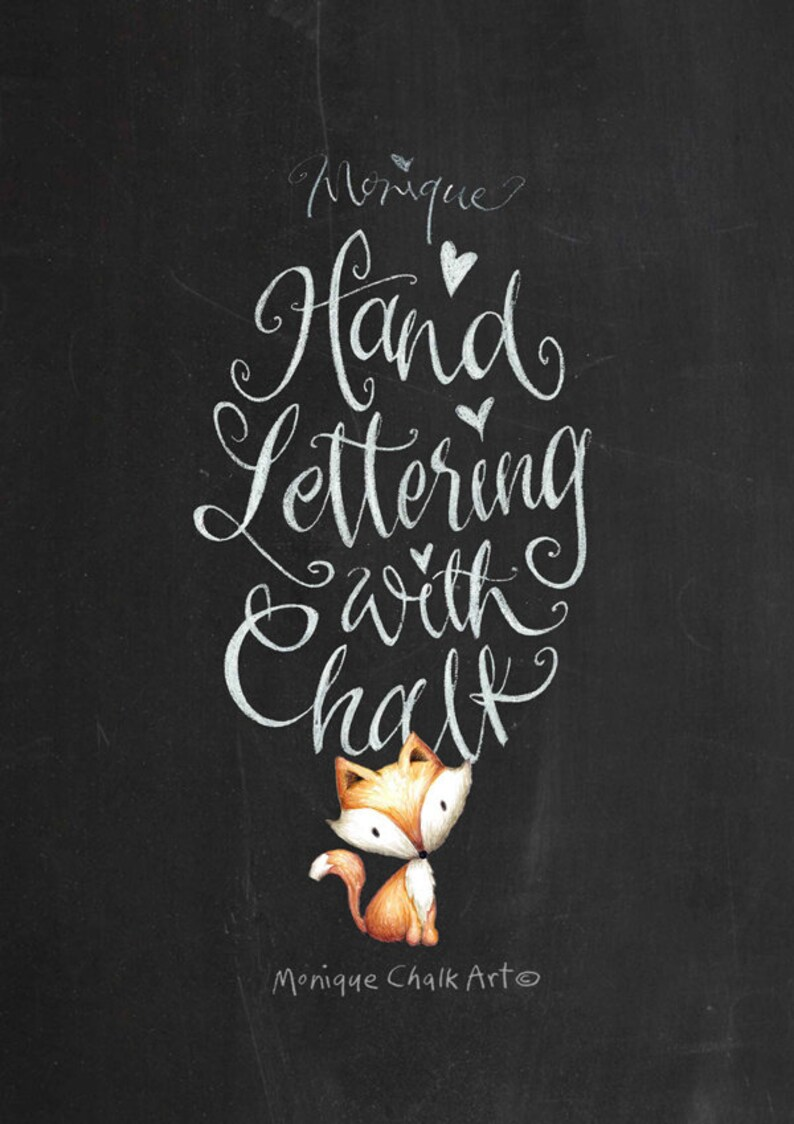 Chalk Lettering lesson calligraphy lesson calligraphy image 0
